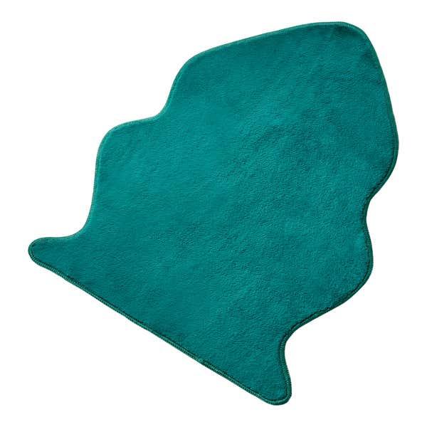 Teppich aus superweichem Fellimitat, ca. 60x58cm