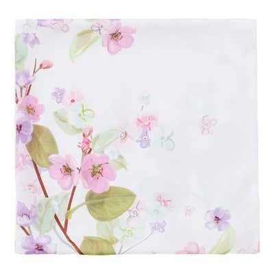 Kissenhülle mit Blumen-Aufdruck, ca.40x40cm