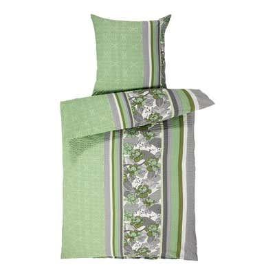 Seersucker-Bettwäsche mit trendigen Streifen