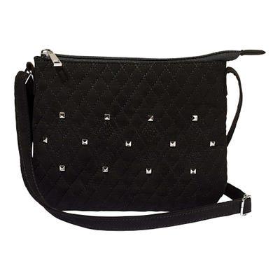 Damen-Handtasche mit Schmucksteinen, ca. 23x19cm