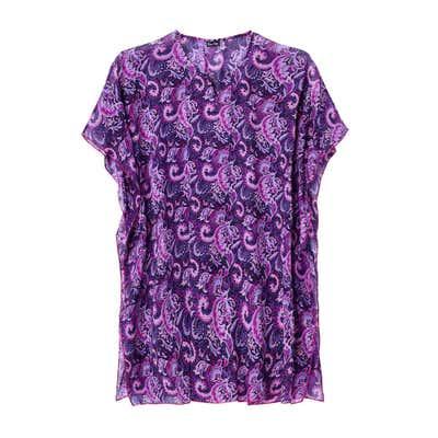 Damen-Strandkleid mit wunderschönem Muster