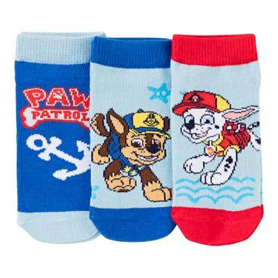 Paw Patrol Kinder-Sneaker-Socken, 3er Pack