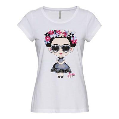 Damen-T-Shirt mit stylishem Frontaufdruck