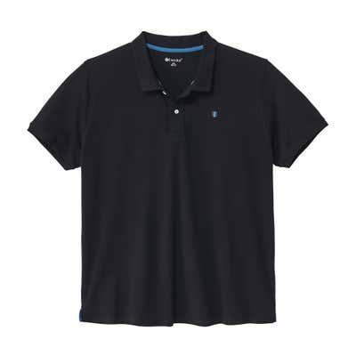 Herren-Poloshirt in Piqué-Qualität, große Größen