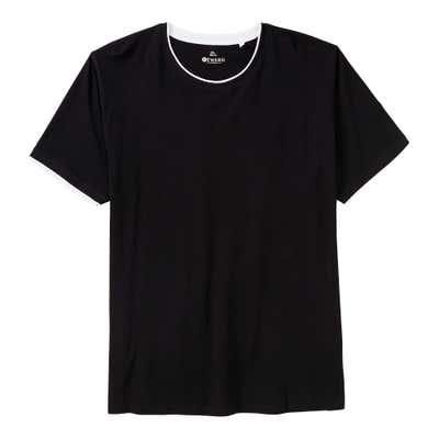 Herren-T-Shirt im 2-in-1-Look, große Größen