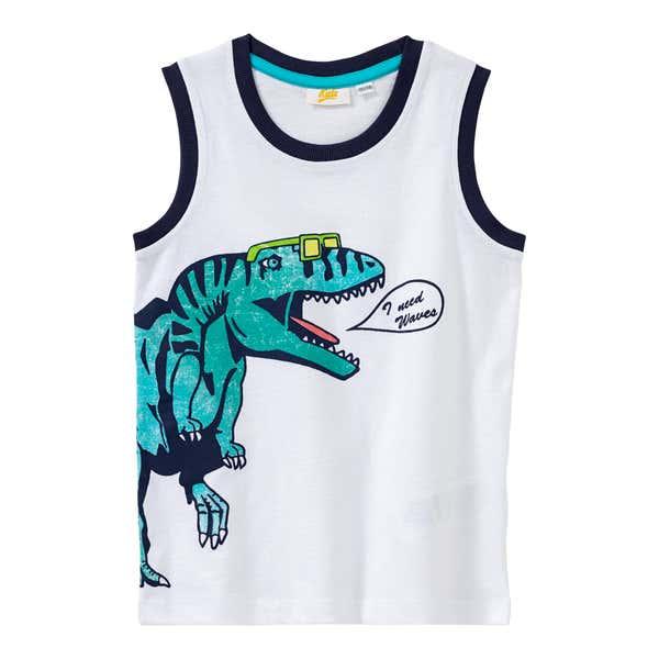 Jungen-Top mit Dino-Aufdruck