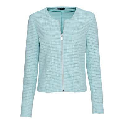Damen-Jacke mit hübschem Lochmuster