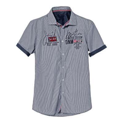 Herren-Hemd mit coolen Ärmelaufschlägen