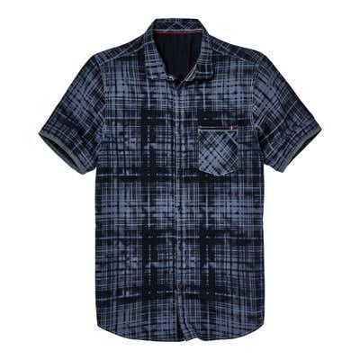 Herren-Hemd mit futuristischem Muster