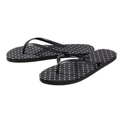 Damen-Flip-Flops mit gemusterter Sohle