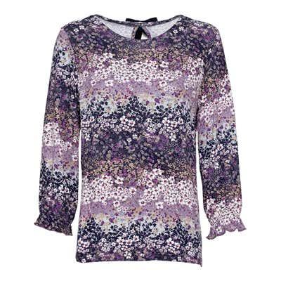 Damen-Shirt mit Blümchen-Muster