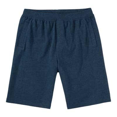 Herren-Sweat-Freizeithose in Jeans-Melange-Optik