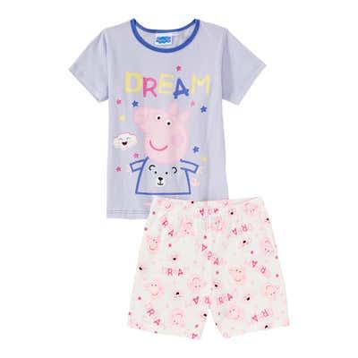 Peppa Pig Mädchen-Shorty, 2-teilig