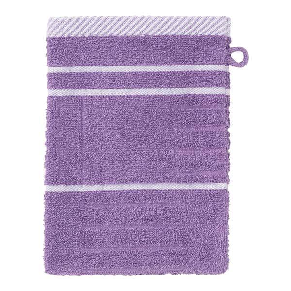 Waschhandschuh mit Struktur-Muster, 16x21cm