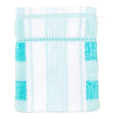 Waschhandschuh mit Trend-Design, 16x21cm