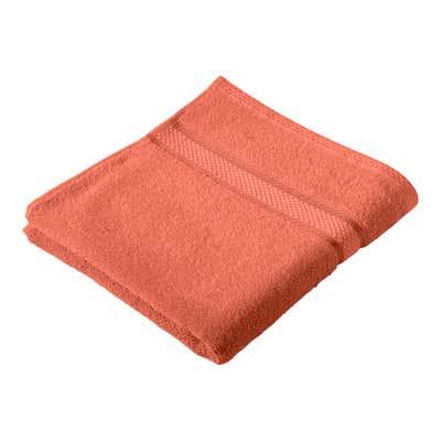 Handtuch mit Glanzborte, 50x100cm