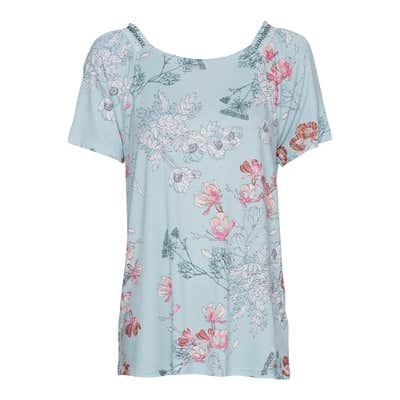 Damen-T-Shirt mit elastischem Schulterband