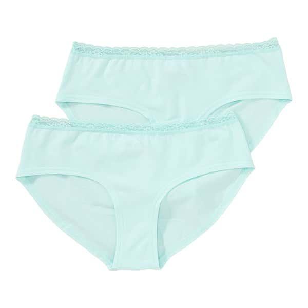Damen-Panty mit Spitze am Bund, 2er Pack