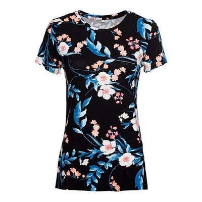 Damen-T-Shirt mit verschiedenen Mustern