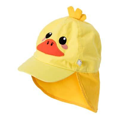 Baby-Mütze mit gesticktem Tiergesicht