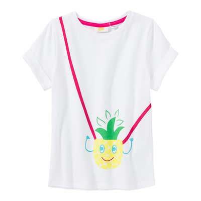 Mädchen-T-Shirt mit Ananas-Aufdruck