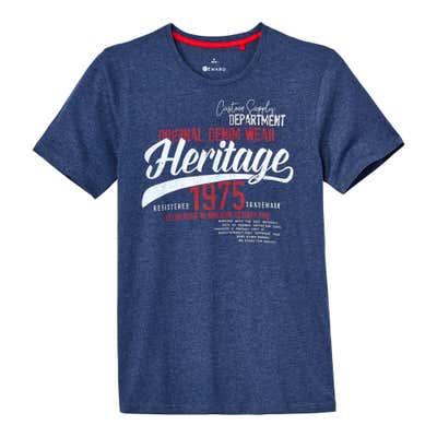 Herren-T-Shirt mit coolem Vintage-Motiv
