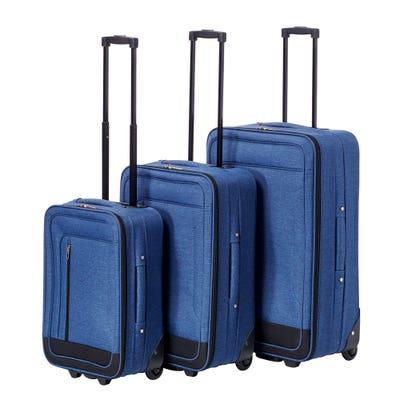 Softcase-Trolley-Set in verschiedenen Größen, 3er-Set