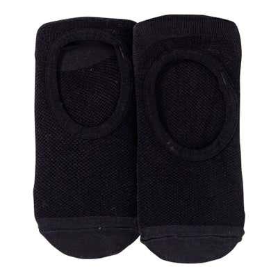 Damen-Sneaker-Socken mit Netz-Struktur, 2er Pack