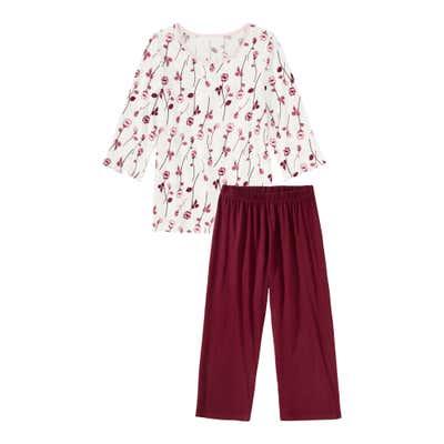 Damen-Shorts mit floralem Design, 2-teilig