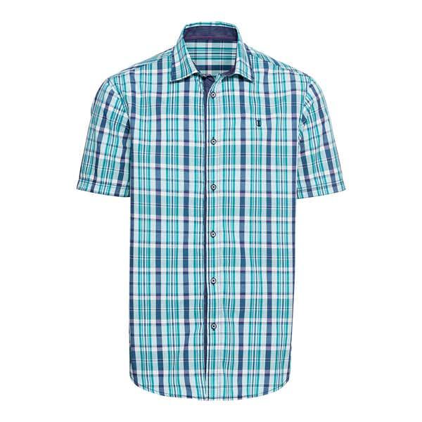 Herren-Hemd mit verschiedenen Karomustern