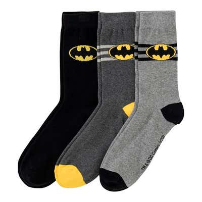 Socken mit Superhelden-Motiv, 3er Pack