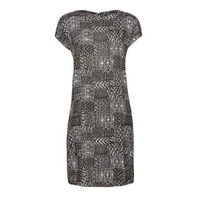 Damen-Kleid mit kreativem Muster