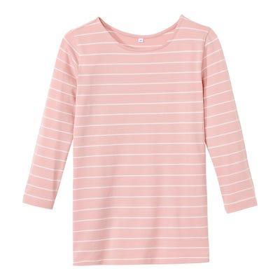 Damen-Shirt mit angesagtem U-Boot-Ausschnitt