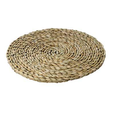 Platz-Set aus nachhaltigen Naturmaterialien, Ø ca. 38cm