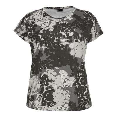 Damen-T-Shirt mit kreativem Muster, große Größen