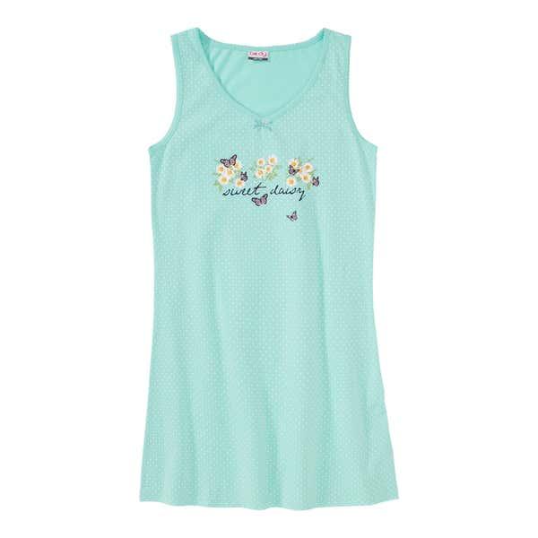Damen-Nachthemd mit hübschem Frontaufdruck