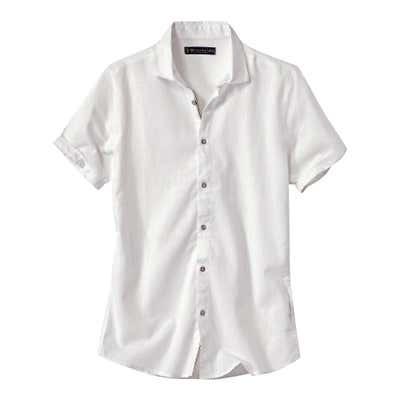Herren-Hemd aus angesagten Leinen