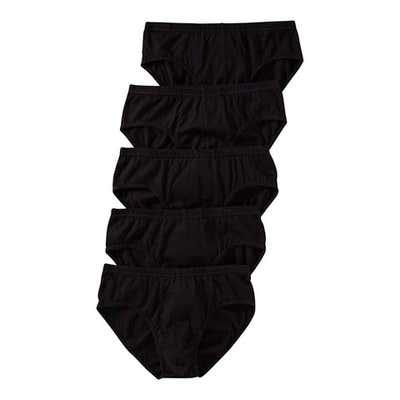 Herren-Slip aus reiner Baumwolle, 5er Pack