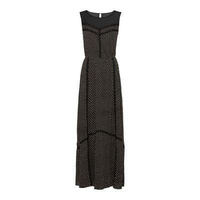 Damen-Kleid mit Spitzenbändern