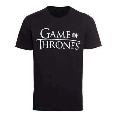 Herren-T-Shirt mit verschiedenen Logos