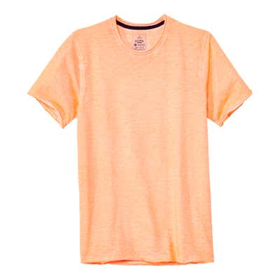 Herren-T-Shirt in frischem Orange
