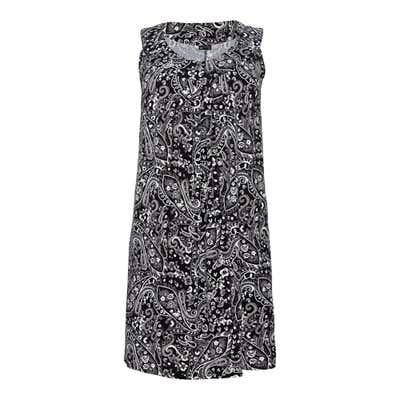 Damen-Kleid mit Paisley-Muster, große Größen