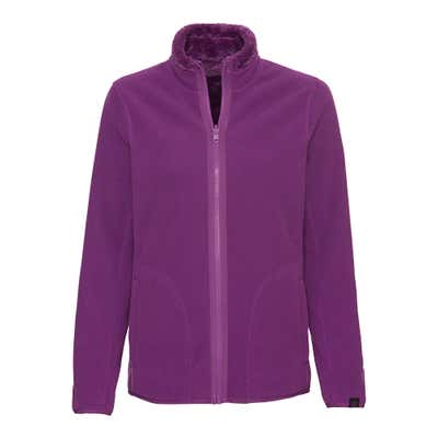 Damen-Fleecejacke mit Wende-Design