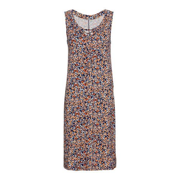 Damen-Kleid mit Schnürung am Ausschnitt