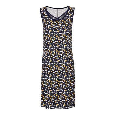 Damen-Kleid mit raffiniertem Spitzeneinsatz