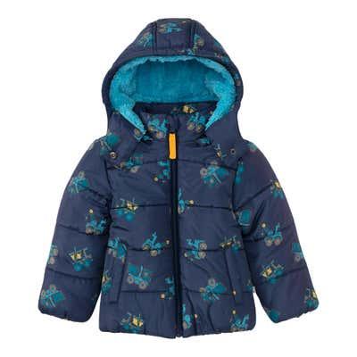 Baby-Jungen-Jacke mit Fleece-Futter