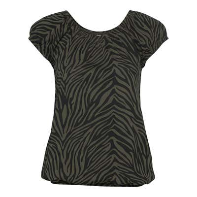 Damen-T-Shirt mit Tiger-Muster