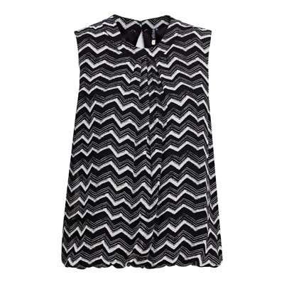Damen-Bluse mit Trend-Muster