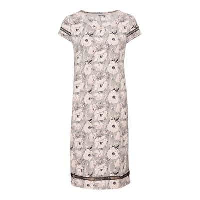 Damen-Kleid mit Blüten-Design