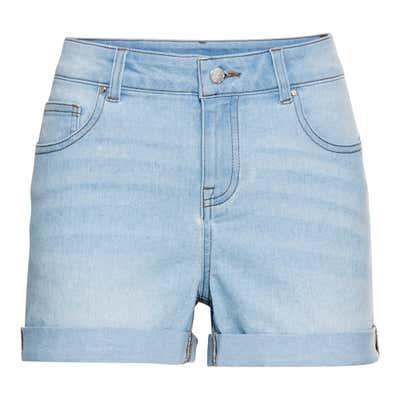 Damen-Shorts in Jeans-Optik
